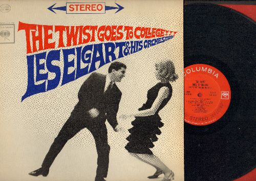 Elgart, Les & His Orchestra - The Twist Goes To College: Boogie Woogie Twist, Bandstand Twist, Frenesi Twist, Sabre Twist, In The Mood Twist (Vinyl STEREO LP record) - EX8/EX8 - LP Records