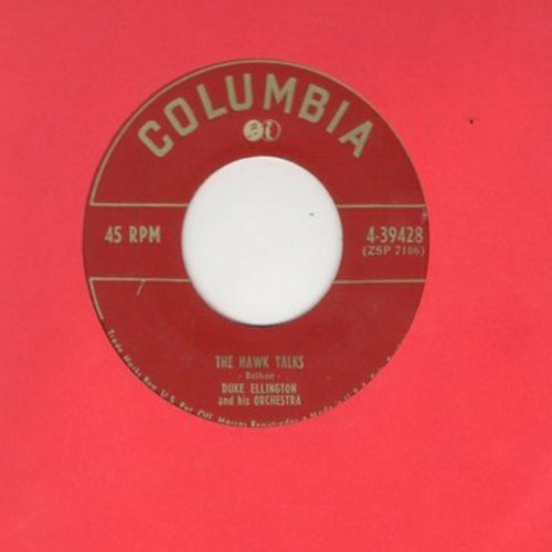 Ellington, Duke & His Orchestra - Fancy Dan/The Hawk Talks - NM9/ - 45 rpm Records