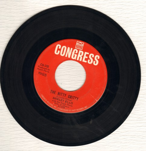 Ellis, Shirley - The Nitty Gritty/Give Me A List (wol) - VG7/ - 45 rpm Records