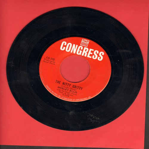 Ellis, Shirley - The Nitty Gritty/Give Me A List (with juke box label) - EX8/ - 45 rpm Records