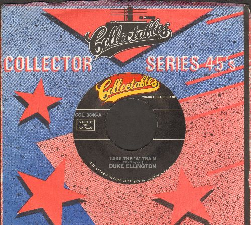 Ellington, Duke & His Orchestra - Magenta Haze/Take The -A- Train (double-hit re-issue with Collectables company sleeve) - NM9/ - 45 rpm Records