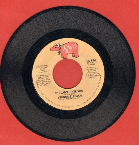 Elliman, Yvonne - If I Can't Have You/Good Sign - EX8/ - 45 rpm Records