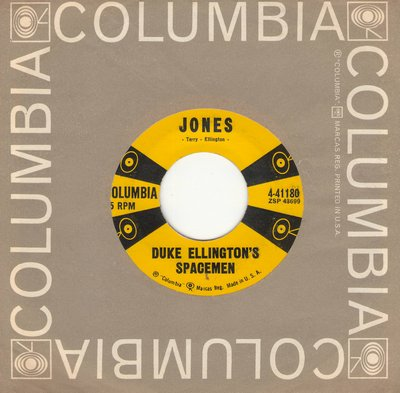 Ellington, Duke (Duke Ellington's Spacemen) - Jones/Duke's Place (with Columbia company sleeve) - EX8/ - 45 rpm Records