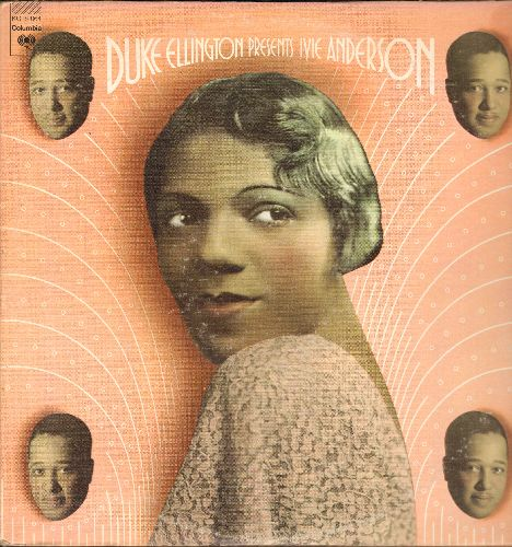 Ellington, Duke & Ivie Anderson - Duke Ellington Presents Ivie Anderson: It Don't Mean A Thing (If It Ain't Got That Swing), Stormy Weather, Mood Indigo (2 vinyl LP record set, gate-fold cover, 1973 issue of vintage Jazz recordings) - NM9/EX8 - LP Records
