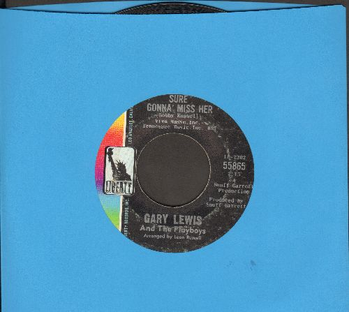 Lewis, Gary & The Playboys - Sure Gonna Miss Her/I Don't Wanna Say  Goodnight - EX8/ - 45 rpm Records