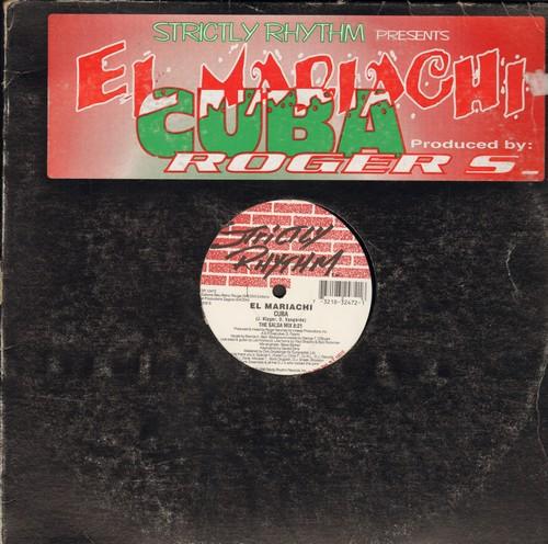 El Mariachi - Cuba (8:21 minutes Salsa Mix)/Cuba (7:58 minutes Havana Club Mix) (12 inch vinyl Maxi Single) - NM9/ - LP Records