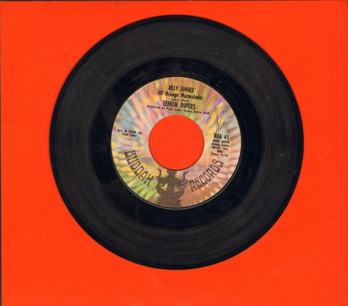 Lemon Pipers - Jelly Jungle (Of Orange Marmalade)/Shoeshine Boy - VG7/ - 45 rpm Records
