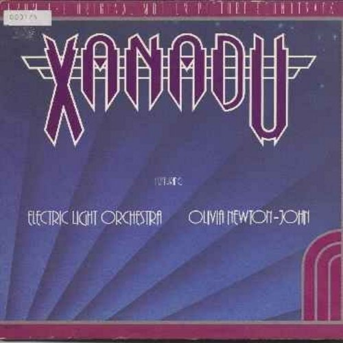 Electric Light Orchestra & Olivia Newton-John - Xanadu: Original Movie Sound Track - vinyl LP record featuring songs by Olivia Newton-John (gate-fold cover) - VG7/EX8 - LP Records