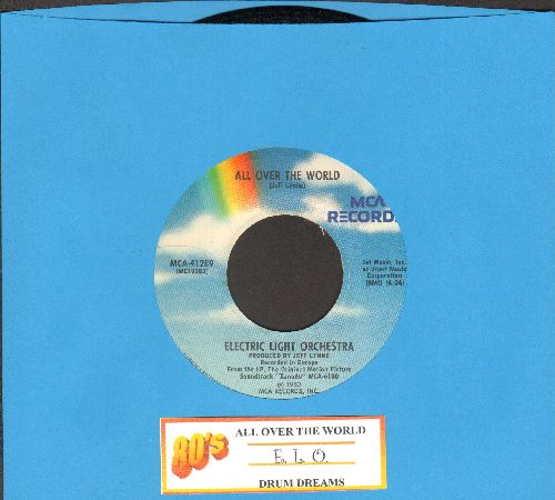 Electric Light Orchestra - All Over The World/Drum Dreams - NM9/ - 45 rpm Records