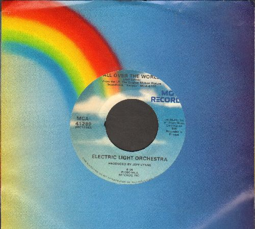 Electric Light Orchestra - All Over The World/Drum Dreams (with MCA company sleeve) - NM9/ - 45 rpm Records