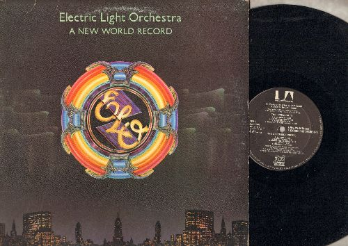 Electric Light Orchestra - A New World Record: Livin' Thing, Telephone Line, Rockaria!, Do Ya (vinyl STEREO LP record) - EX8/VG7 - LP Records