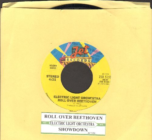 Electric Light Orchestra - Roll Over Beethoven/Showdown (with juke box label) - NM9/ - 45 rpm Records