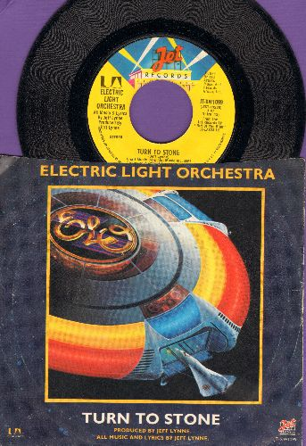 Electric Light Orchestra - Turn To Stone/Mister Kingdom (with picture sleeve) - NM9/VG7 - 45 rpm Records