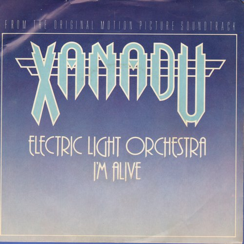 Electric Light Orchestra - I'm Alive/Drum Dreams (from film -Xanadu-) (with picture sleeve) - NM9/EX8 - 45 rpm Records