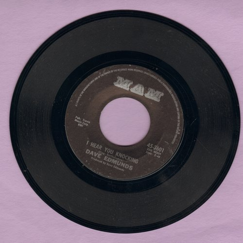 Edmunds, Dave - I Hear You Knocking/Black Bill - VG7/ - 45 rpm Records