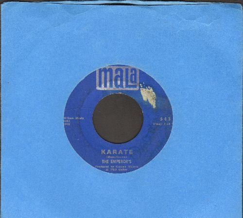 Emperor's - Karate/I've Got To Have Her (bb, sol) - VG7/ - 45 rpm Records