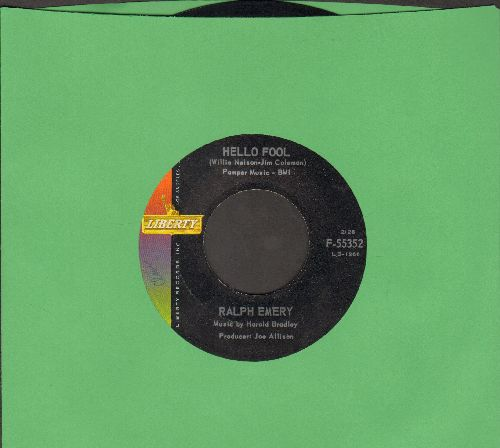 Emery, Ralph - Hello Fool/It's Not A Lot - EX8/ - 45 rpm Records