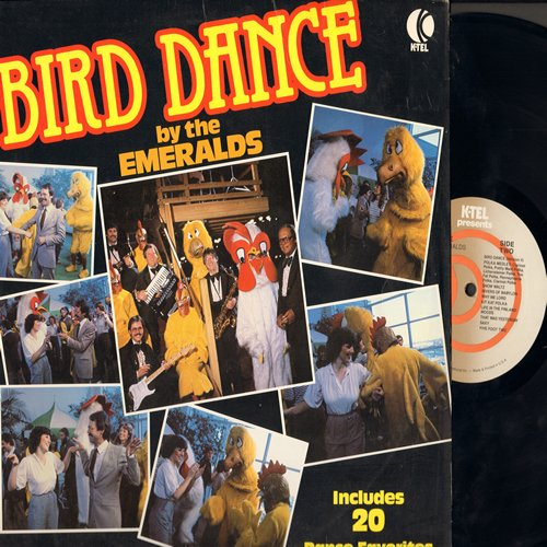 Emeralds - Bird Dance (Chicken Dance): Y Viva Espana, Polka Medley, Die Kleine Kneipe (Vinyl STEREO LP record) - EX8/NM9 - LP Records