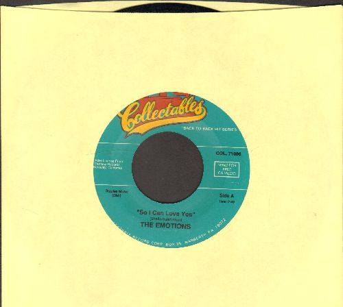Emotions - So I Can Love You/The Best Part Of A Love Affair (double-hit re-issue) - NM9/ - 45 rpm Records