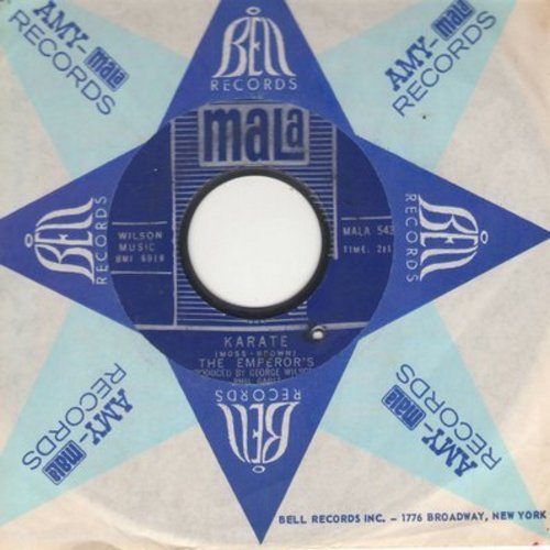 Emperor's - Karate/I've Got To Have Her (bb) (with Mala company sleeve) - EX8/ - 45 rpm Records