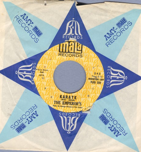 Emperor's - Karate/I've Got To Have Her (DJ pressing with Mala company sleeve) - EX8/ - 45 rpm Records