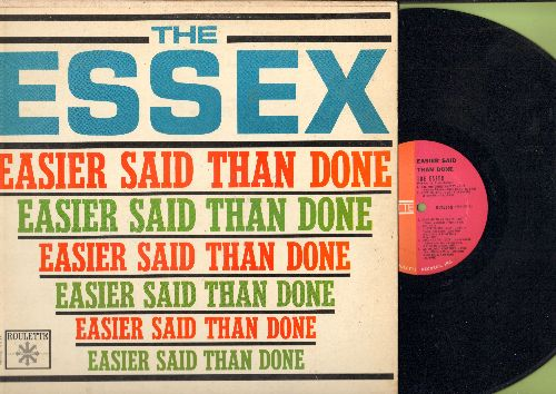 Essex - Easier Said Than Done: Come On To My Party, Are You Going My Way, We Belong Together, When I Meet My Baby (Vinyl MONO LP record, 1963 first pressing) - NM9/VG7 - 45 rpm Records