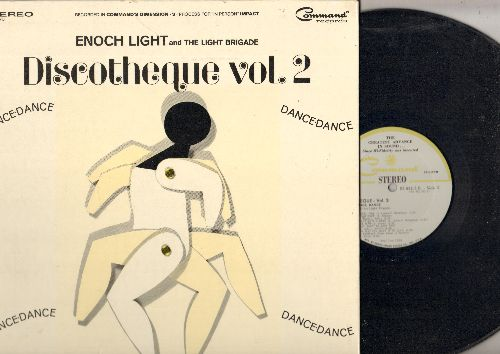 Light, Enoch & The Light Brigade - Discoteque Vol. 2: Love Potion Number 9, Downtown, I Feel Fine, Goldfinger, The Jerk (vinyl STEREO LP record, gate-fold cover) - NM9/EX8 - LP Records