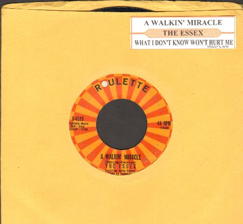 Essex - A Walking Miracle/What I Don't Know Won't Hurt Me (with juke box label) - NM9/ - 45 rpm Records