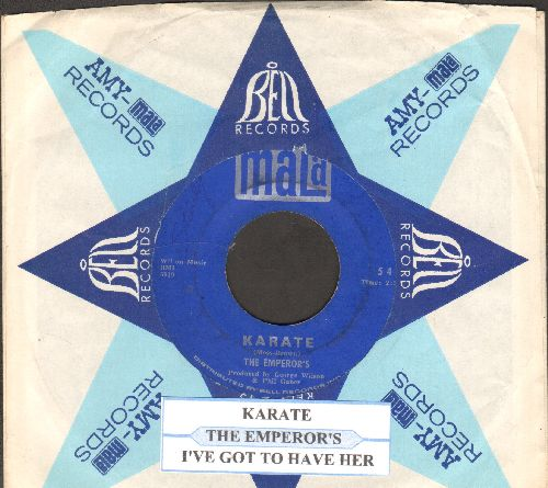Emperor's - Karate/I've Got To Have Her (with juke bo label and Mala company sleeve) - VG7/ - 45 rpm Records