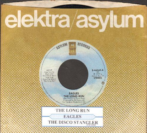 Eagles - The Long Run/The Disco Strangler (with juke box label and Elektra company sleeve) - EX8/ - 45 rpm Records