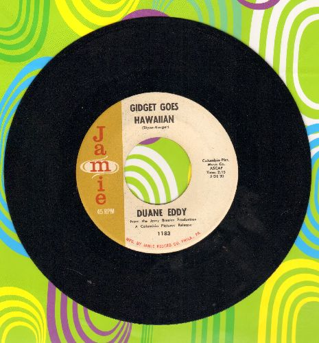 Eddy, Duane - Gidget Goes Hawaiian/Theme From Dixie  - NM9/ - 45 rpm Records