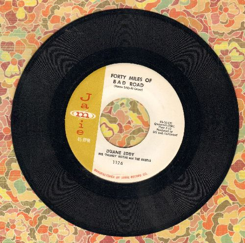Eddy, Duane - Forty Miles Of Bad Road/The Quiet Three (NICE condition!) - NM9/ - 45 rpm Records