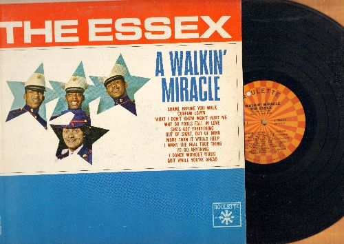 Essex - A Walkin' Miracle: Why Do Fools Fall In Love, She's Got Everything, Quit While You're Ahead (vinyl MONO LP record) - NM9/EX8 - LP Records