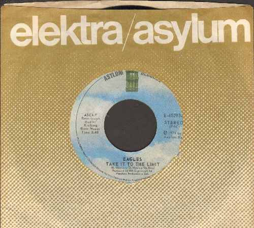 Eagles - Take It To The Limit/After The Thrill Is Gone (with company sleeve) - NM9/ - 45 rpm Records