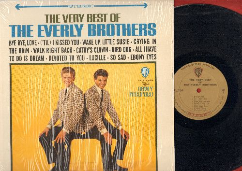 Everly Brothers - The Very Best Of The Everly Brothers: Bye Bye Love, ('Til) I Kissed You, Wake Up Little Susie, Cathy's Clown, All I Have To Do Is Dream, Bird Dog, So Sad, Lucille (Vinyl STEREO LP record, gold label, woc) - NM9/NM9 - LP Records