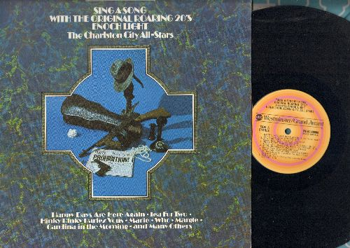 Light, Enoch & The Charleston City All-Stars - Sing A Song With The Original Roaring 20's:: Happy Days Are Here Again, Tea For Two, Aril Showers, Carolina In The Morning (vinyl STEREO LP record) - NM9/EX8 - LP Records