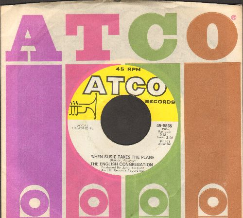 English Congregation - When Susie Takes The Plane/Softly Whispering I Love You (with Atco company sleeve) - NM9/ - 45 rpm Records