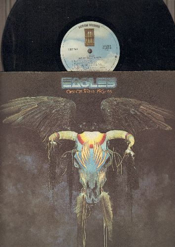 Eagles - One Of These Nights: Lyin' Eyes, Take It To The Limit, I Wish You Peace (vinyl STEREO LP record) - EX8/EX8 - LP Records