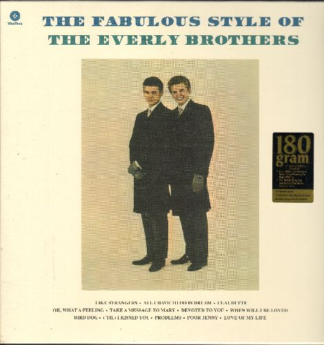 Everly Brothers - The Fabulous Style Of: Let It Be Me, When Will I Be Loved, Be Bop A-Lula, ('Til) I Kissed You, Rip It Up (vinyl STEREO LP record) - SEALED/SEALED - LP Records