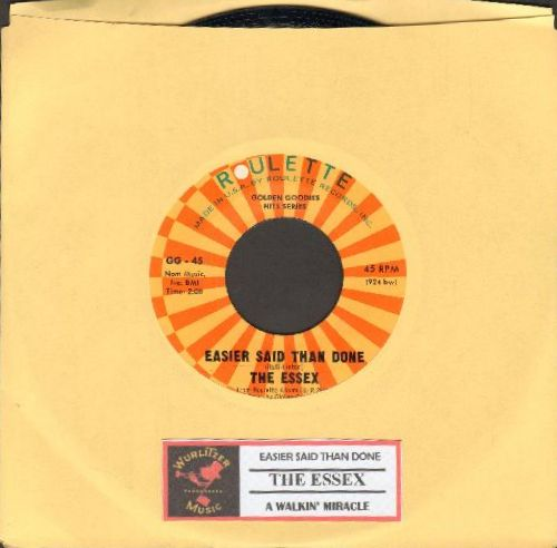 Four Seasons - Alone (Why Must I Be Alone)/Long Lonely Nights (NICE condition with juke box label) - NM9/ - 45 rpm Records