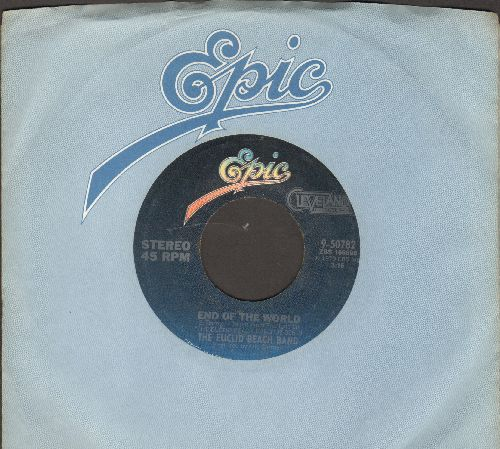 Euclid Beach Band - End Of The World/You Make It Easy (with juke box label) - NM9/ - 45 rpm Records