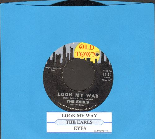 Earls - Eyes/Look My Way (with juke box label) (bb) - NM9/ - 45 rpm Records