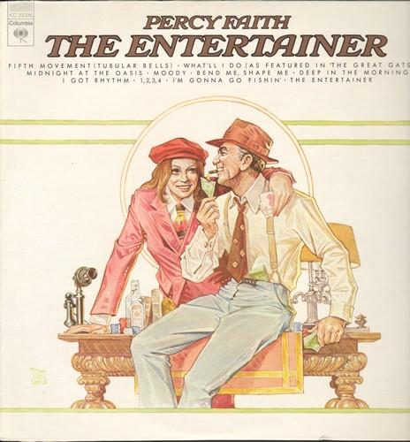Faith, Percy - The Entertainer: I Got Rhythm, Bend Me Shape Me, Tubular Bells (Vinyl STEREO LP record) - NM9/NM9 - LP Records