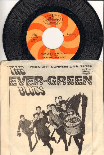 Ever-Green Blues - Midnight Confessions/(Yes) That's My Baby (with picture sleeve) - NM9/EX8 - 45 rpm Records