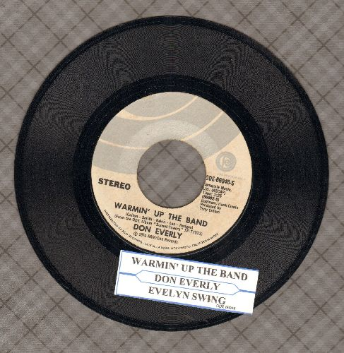 Everly, Don - Warmin' Up The Band/Everly Swing (with juke box label) - NM9/ - 45 rpm Records
