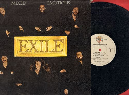 Exile - Mixed Emotions: You Thrill Me, Kiss You All Over, Stay With Me (vinyl LP record) - NM9/EX8 - LP Records