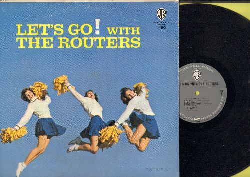 Routers - Let's Go! With The Routers: Limbo Rock, Bucket Seats, Sting Ray, Let's Dance, Mating Call (Vinyl MONO LP record) - EX8/EX8 - LP Records