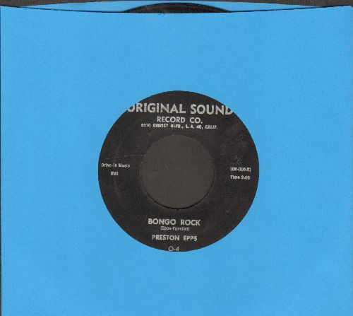 Epps, Preston - Bongo Rock/Bongo Party - EX8/ - 45 rpm Records