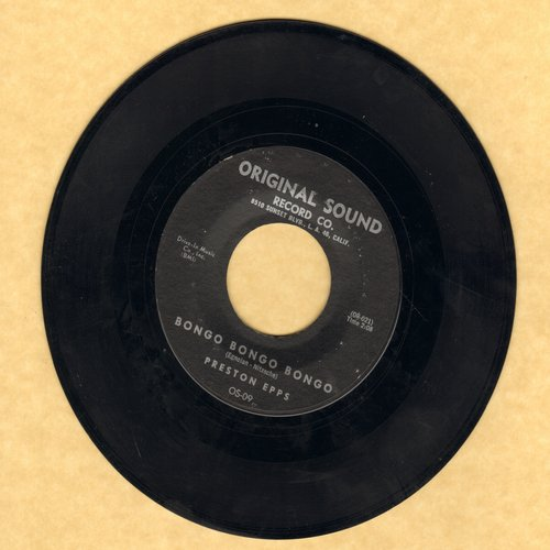 Epps, Preston - Bongo Bongo Bongo/Hully Gully Bongo  - NM9/ - 45 rpm Records
