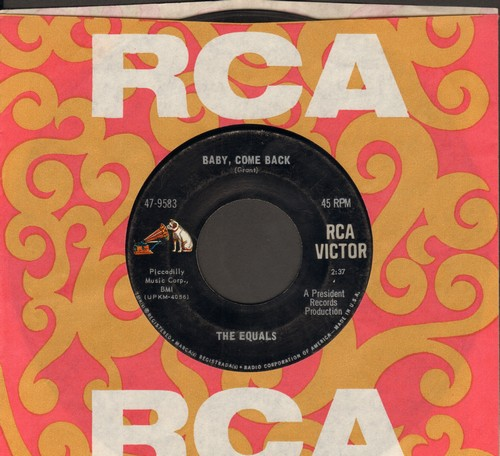 Equals - Baby, Come Back/Hold Me Closer (with RCA company sleeve) - EX8/ - 45 rpm Records